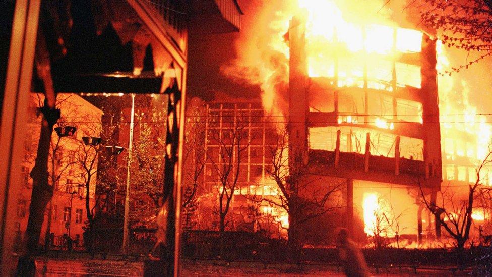 Beograd, 3. april 1999.