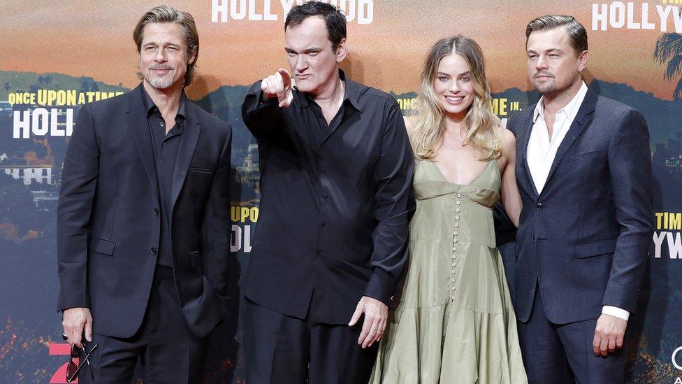 Bred Pit, Kventin Tarantino, Margot Robi i Leonardno Dikaprio