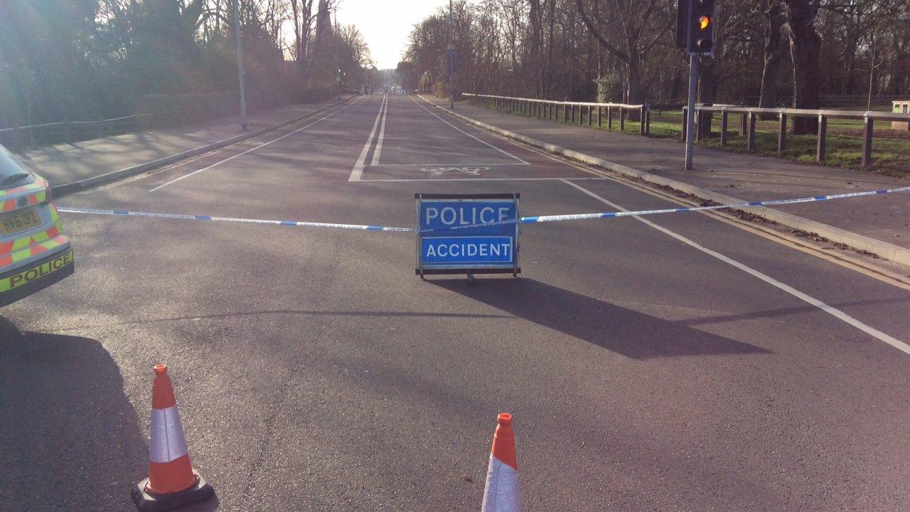 Aldershot motorbike crash: Woman dies
