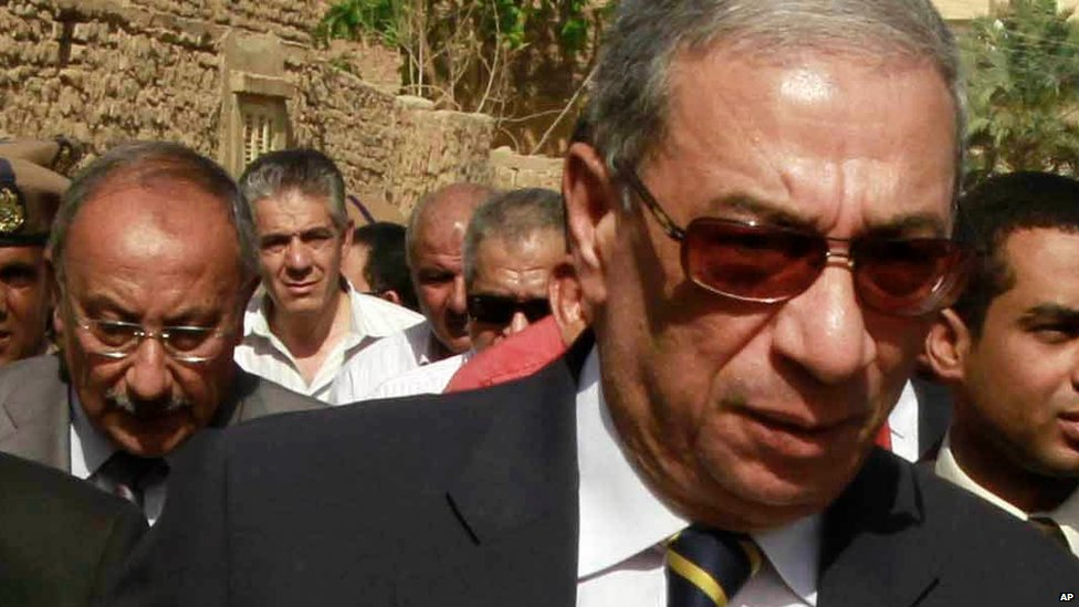 Egyptian public prosecutor Hisham Barakat (file photo)