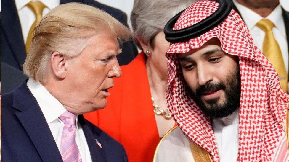 دافع دونالد ترامب عن أفعال ولي العهد السعودي الأمير محمد بن سلمان