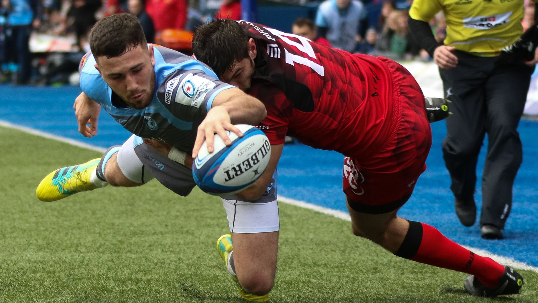 European Champions Cup: Cardiff Blues 33-14 Lyon