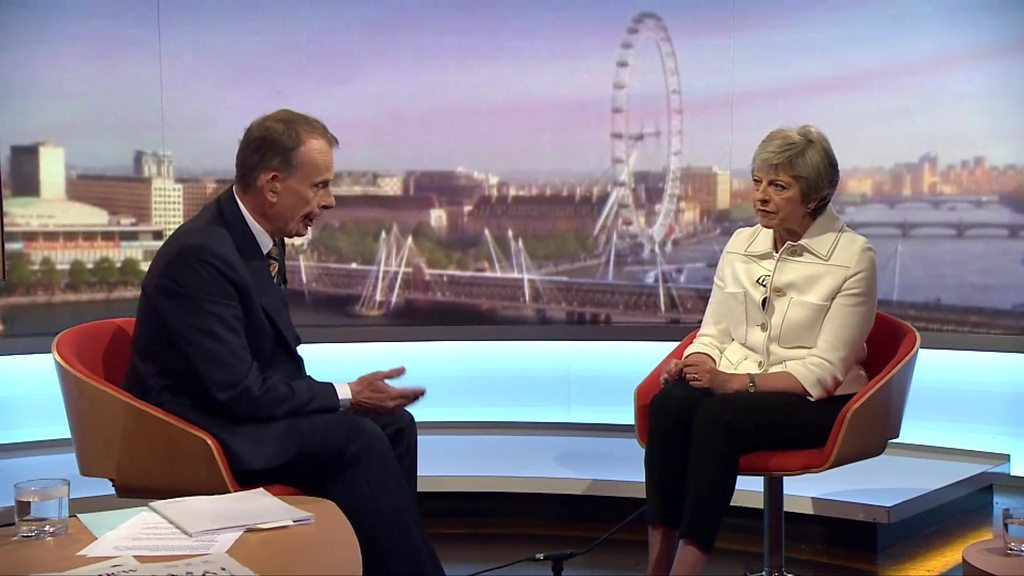 Theresa May: Five things from her Andrew Marr show interview