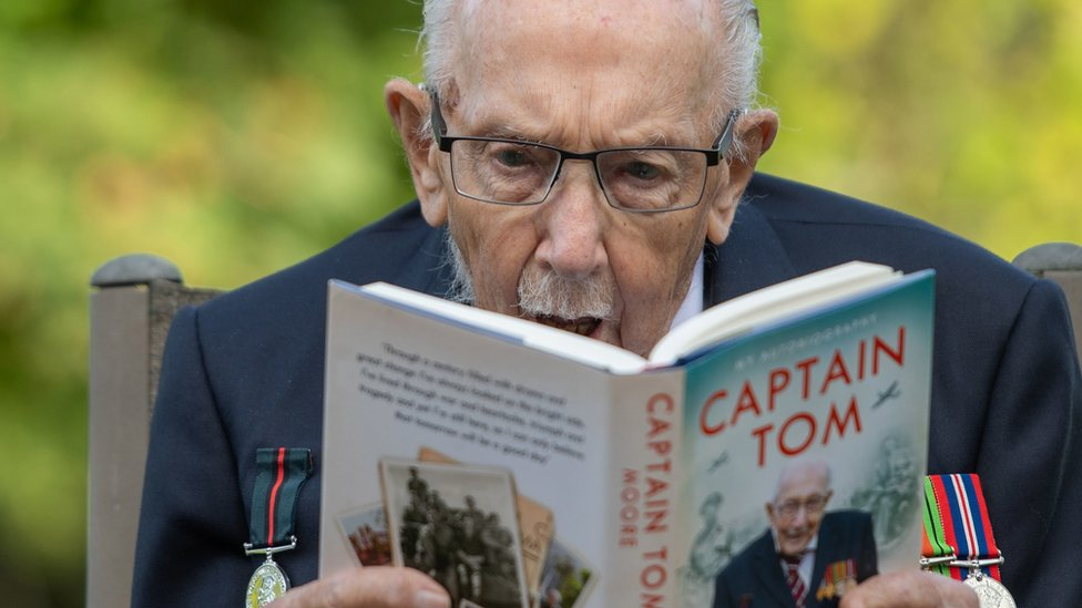 Captain Sir Tom Moore released an autobiography this summer