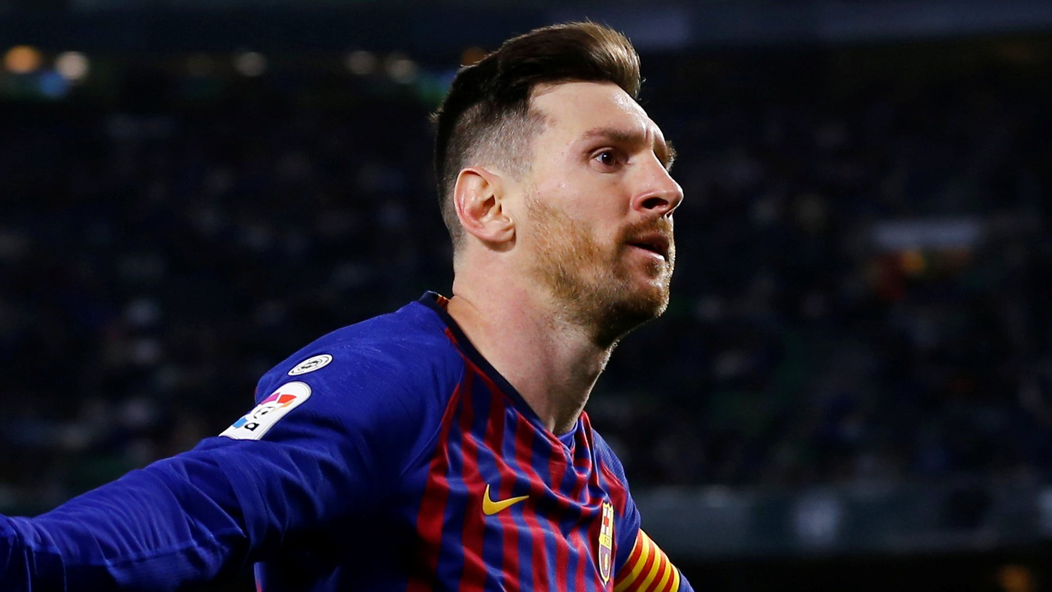 Lionel Messi: Barcelona forward's superb hat-trick sees off Real Betis