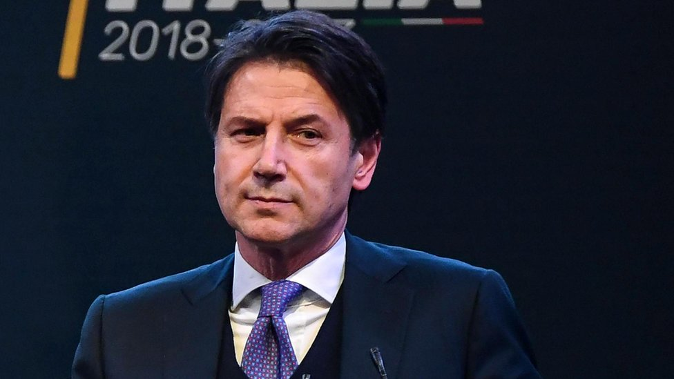 Italy election: Populist PM candidate Conte faces CV scrutiny