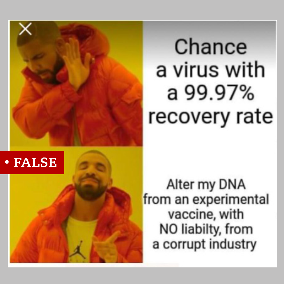 Covid 19 What S The Harm Of Funny Anti Vaccine Memes Bbc News New hilarious memes added daily by us and our users! funny anti vaccine memes