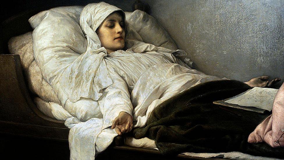 Gabriel Cornelius Ritter von Max (1840-1915) The Seeress of Prevorst (Frederica Hauffe).