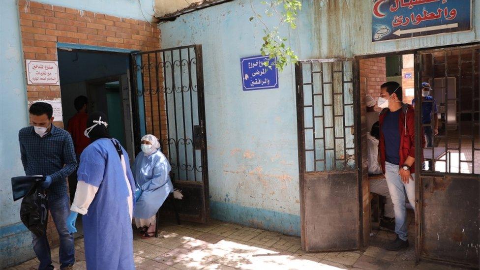 مستشفى في مصر