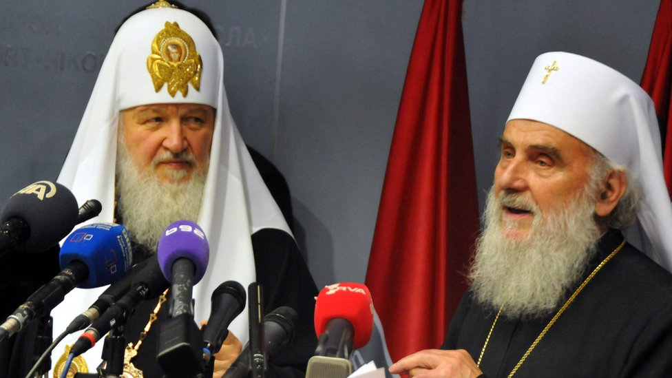 Patrijarh ruski Kiril i srpski Irinej