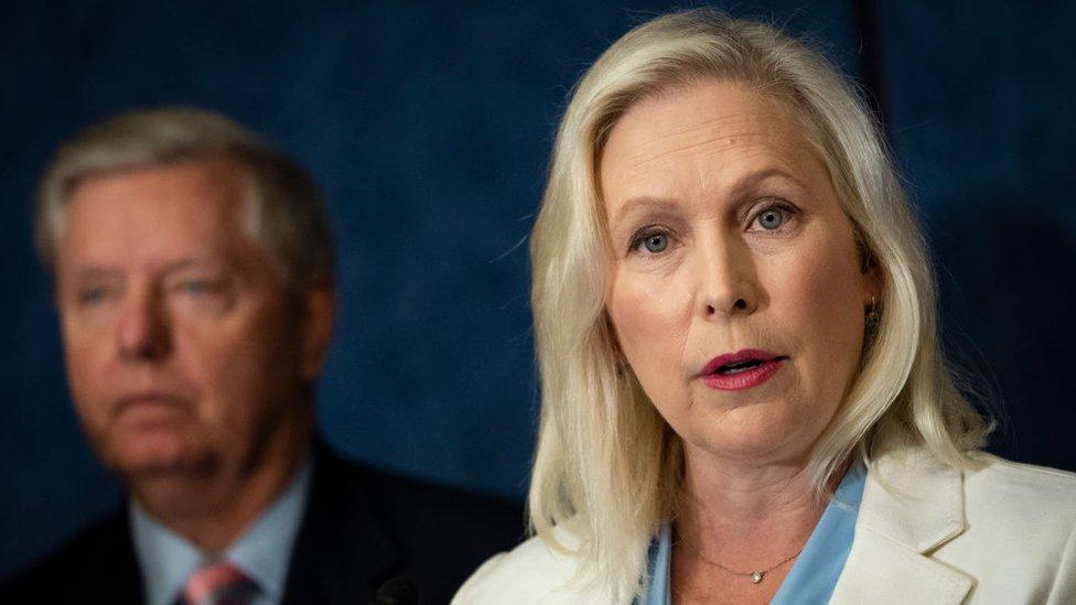 la senadora Kirsten Gillibrand