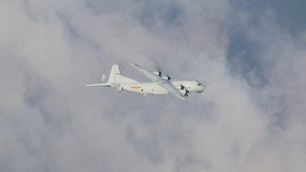 美中台關係:拜登上任 中國軍機多次進出台灣西南「防空識別區」 美國務院首次發表聲明回應