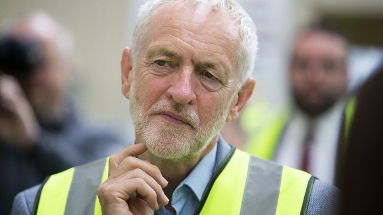 Jeremy Corbyn condemns ex-Labour MP's comments in anti-Semitism row