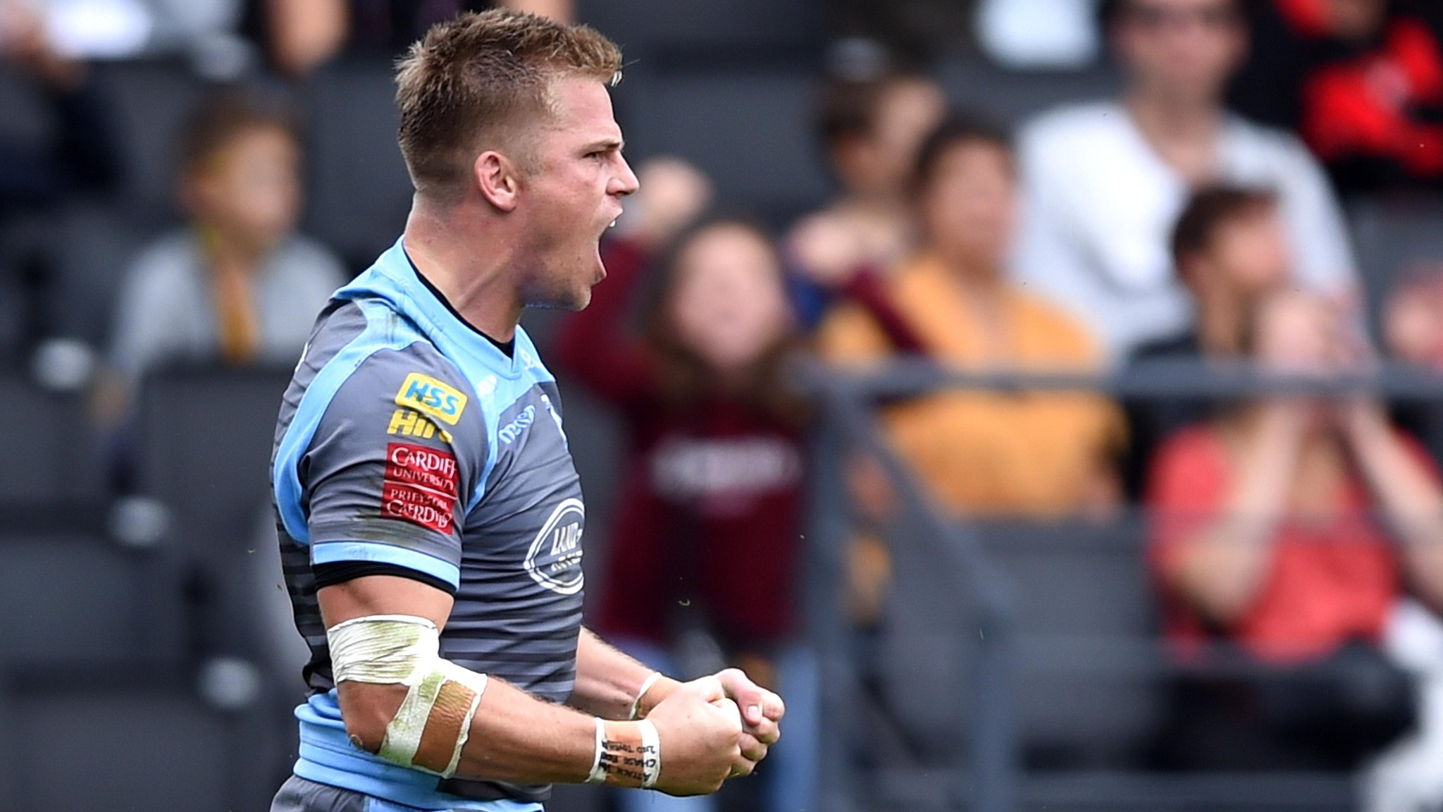 Anscombe leads Cardiff Blues to win over Lyon