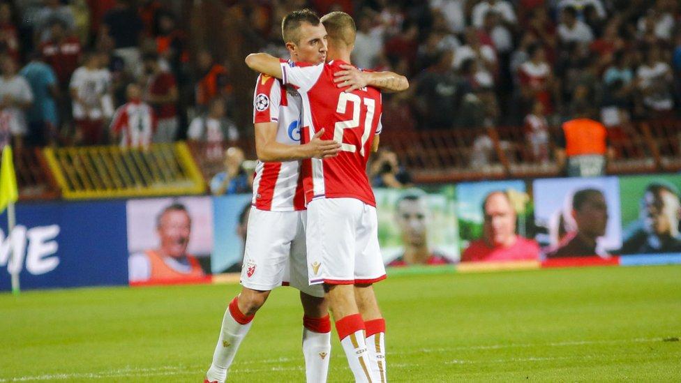 Krističić i Simić posle meča