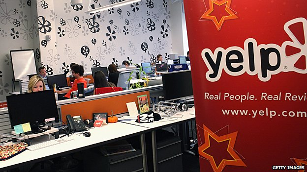 Inside Yelp's New York offices