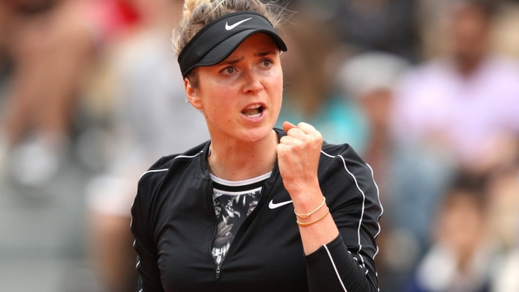 French Open: Elina Svitolina beats Venus Williams to reach second round