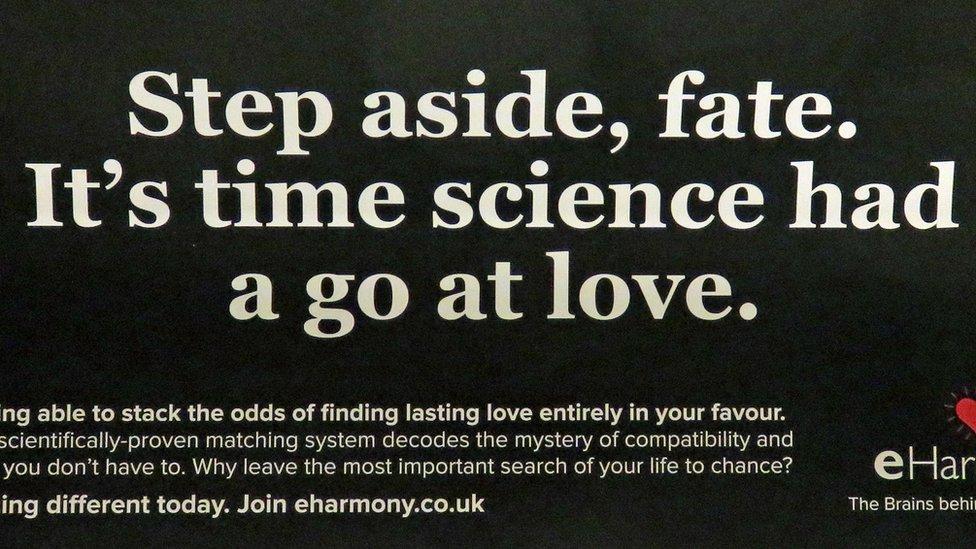 the offending e-harmony advert