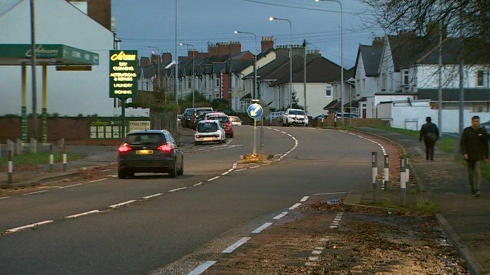 Woman, 94, dies after being hit by police van in Cardiff