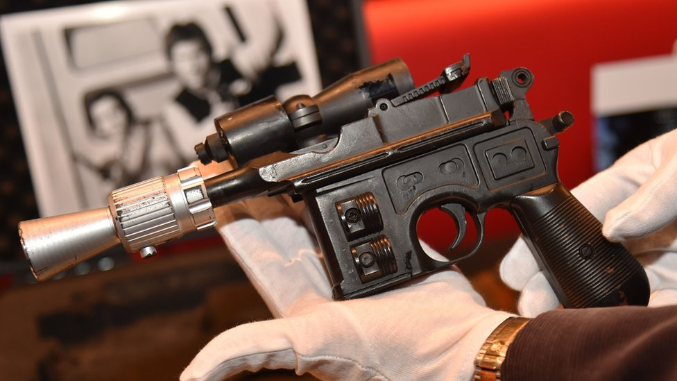 Han Solo 'blaster' fetches $550,000 in New York