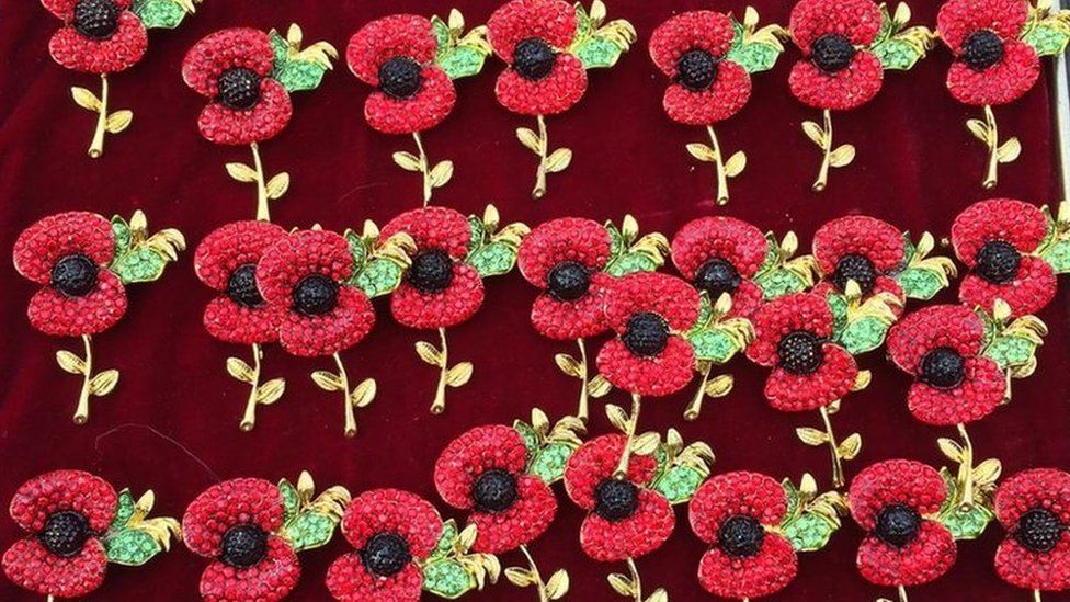 Barry Downs caught selling fake Remembrance Day poppies