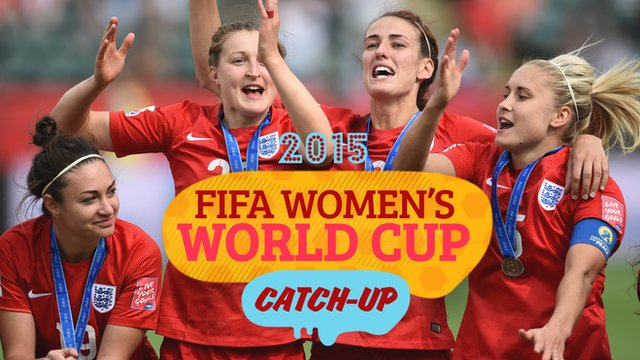 Women's World Cup Catch-Up: Historic bronze medal for England!