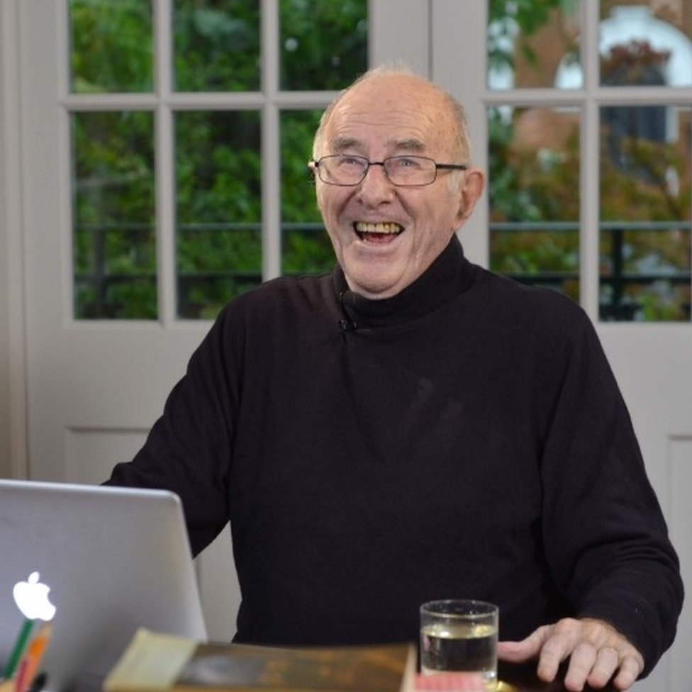 Clive James in 2014