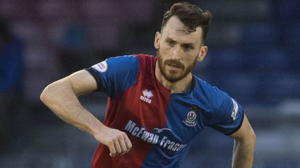 Joe Chalmers: Ross County to sign Inverness CT player