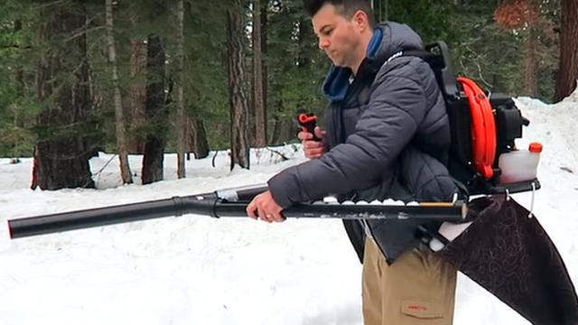 The snowball machine gun
