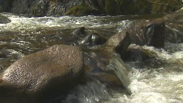 River near Menai Strait