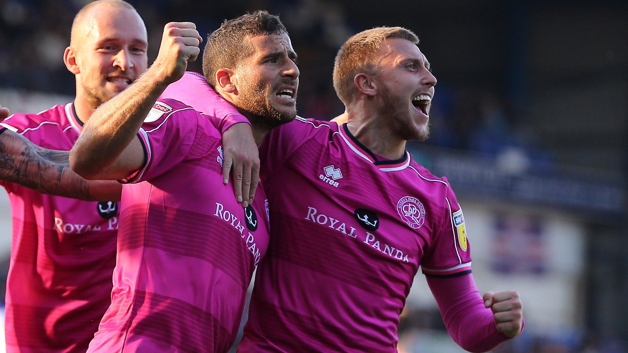 Ipswich Town 0-2 Queens Park Rangers: Pressure builds on Paul Hurst