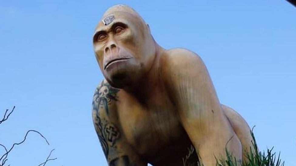 Gorilla statue stolen from London Sanctum Soho Hotel