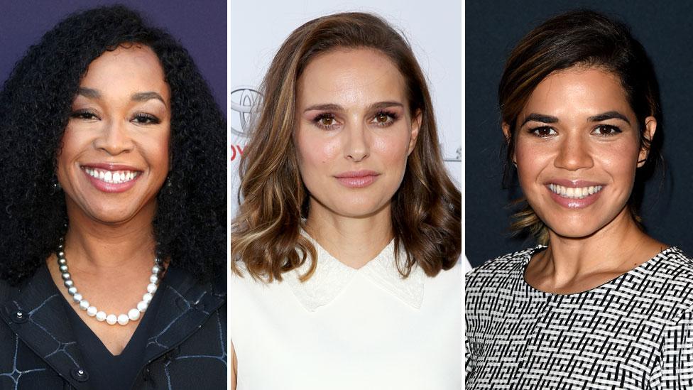 Shonda Rhimes, Natalie Portman and America Ferrera