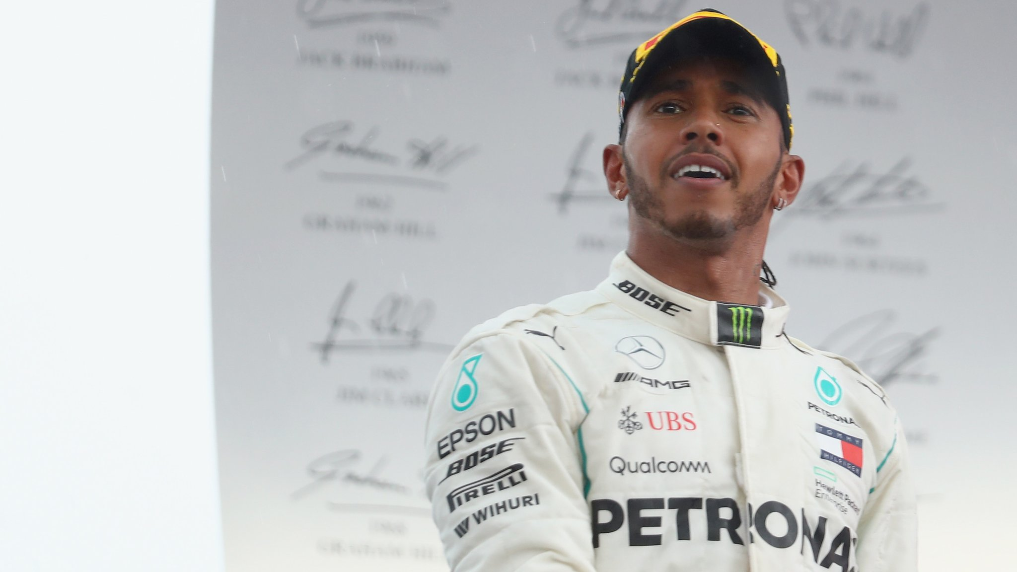 German GP: Lewis Hamilton reflects on 'emotional day' after win and reprimand
