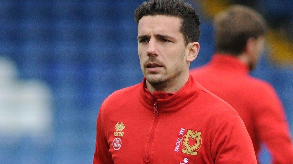 Mathieu Baudry: Swindon Town sign former Milton Keynes Dons defender