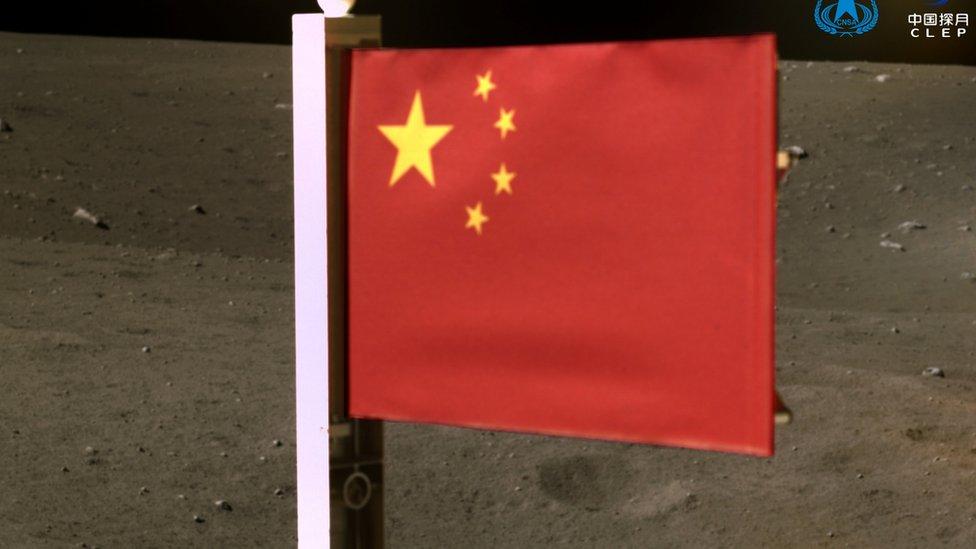 china, misi ke bulan, 2020