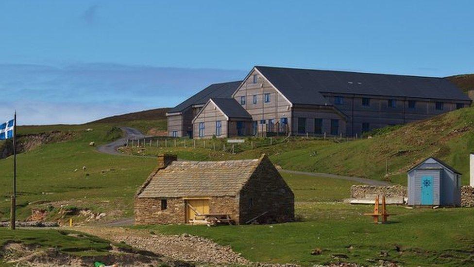 The Fair Isle bird observatory
