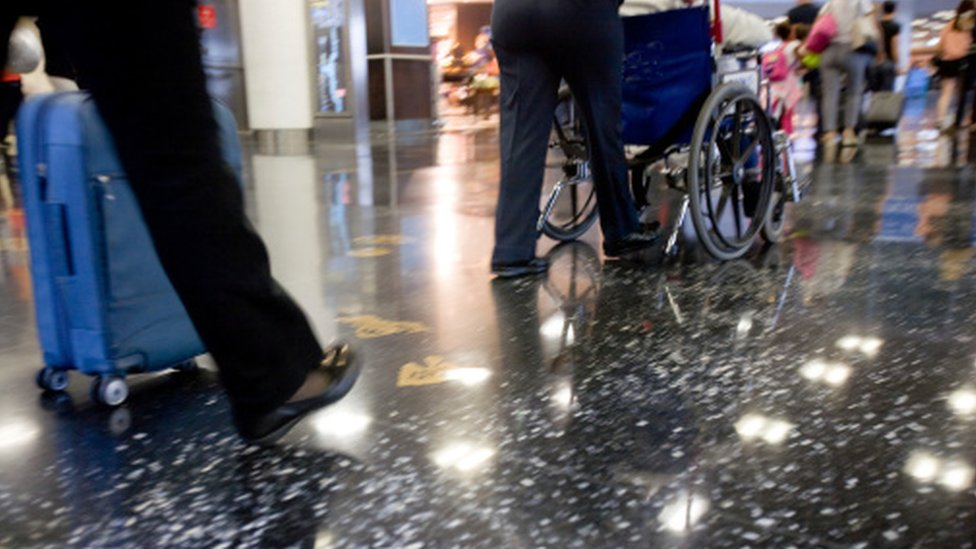 Airport failing disabled passengers