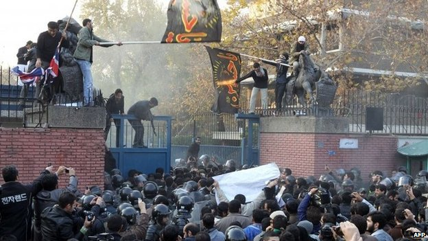 The British Embassy in Tehran has been closed since 2011 when it was stormed by protestors