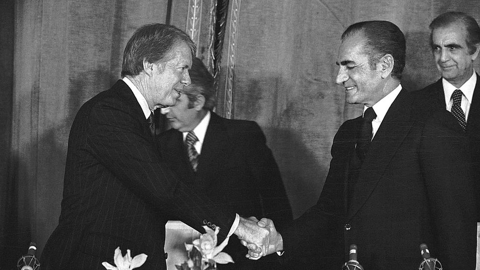 Jimmy Carter y el sha
