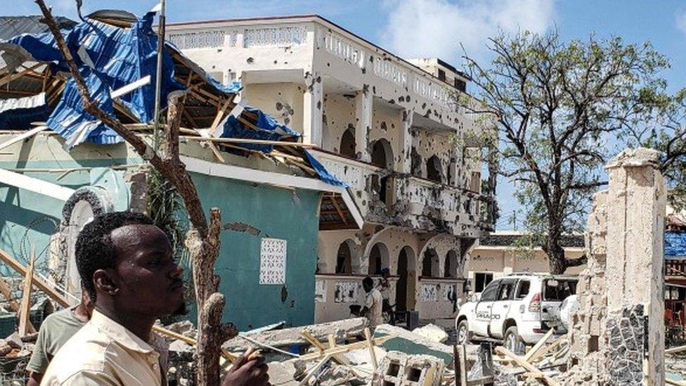 Hotel atacado en Somalia