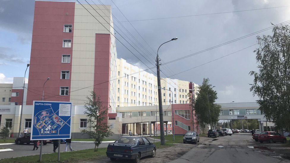 Arkhangelsk regional hospital
