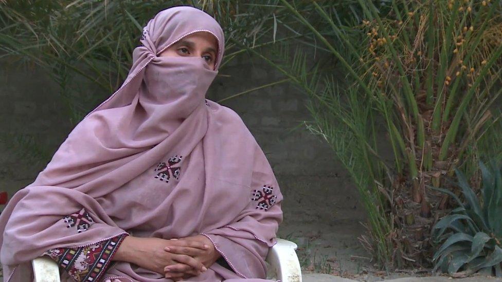 Baloch human rights activist Bibi Gul