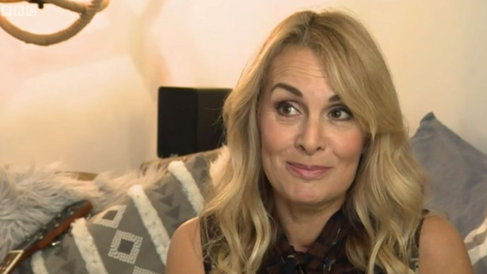Bucks Fizz star Jay Aston back on stage after cancer operation