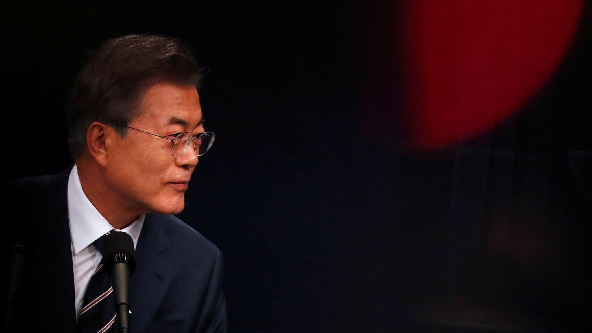 South Korea's Moon Jae-in: Caught between Trump and Kim