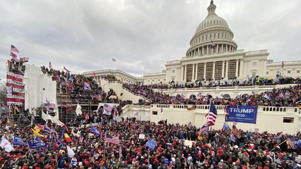 Capitolio de Estados Unidos.