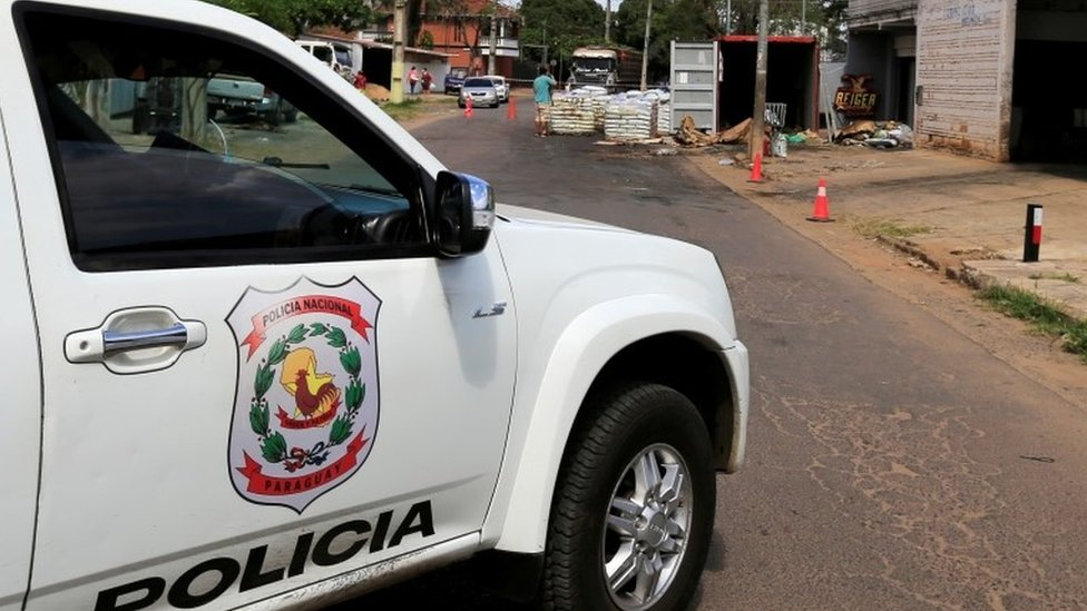 Paraguay finds seven bodies in container shipment from Serbia thumbnail