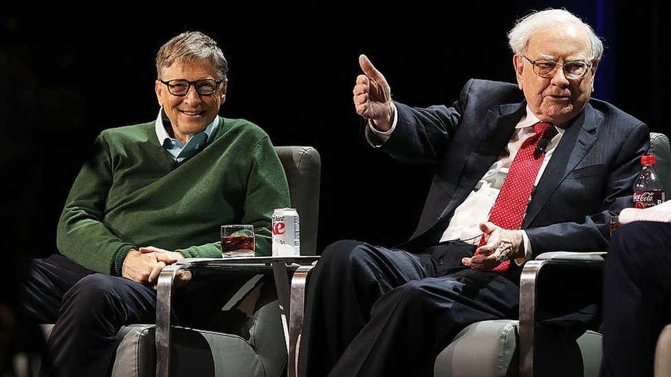 Bill Gates y Warren Buffett en 2017.