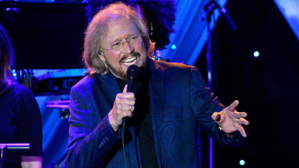 Barry Gibb in 2015