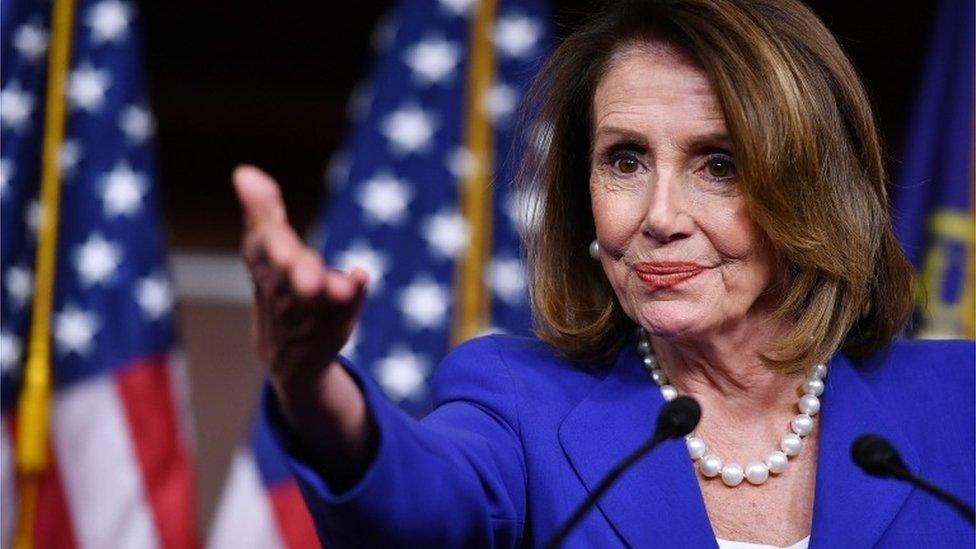 House Speaker Nancy Pelosi, 29 March 2019